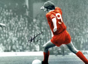 "Steve Heighway Signed 16x12"" Photograph & COA"