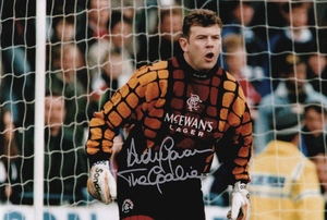 "Andy Goram Signed 12x8"" Photograph & COA"