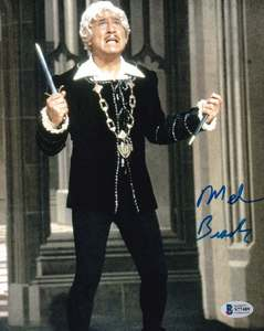 "Mel Brooks Signed 10x8"" Photograph & COA (Blazing Saddles, Spaceballs)"