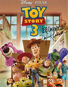 "Lee Unkrich and Darla K Anderson Signed 10x8"" Photograph & COA (Toy Story 3)"