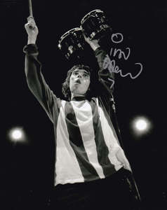 "Ian Brown Signed 10x8"" Photograph & COA (The Stone Roses)"